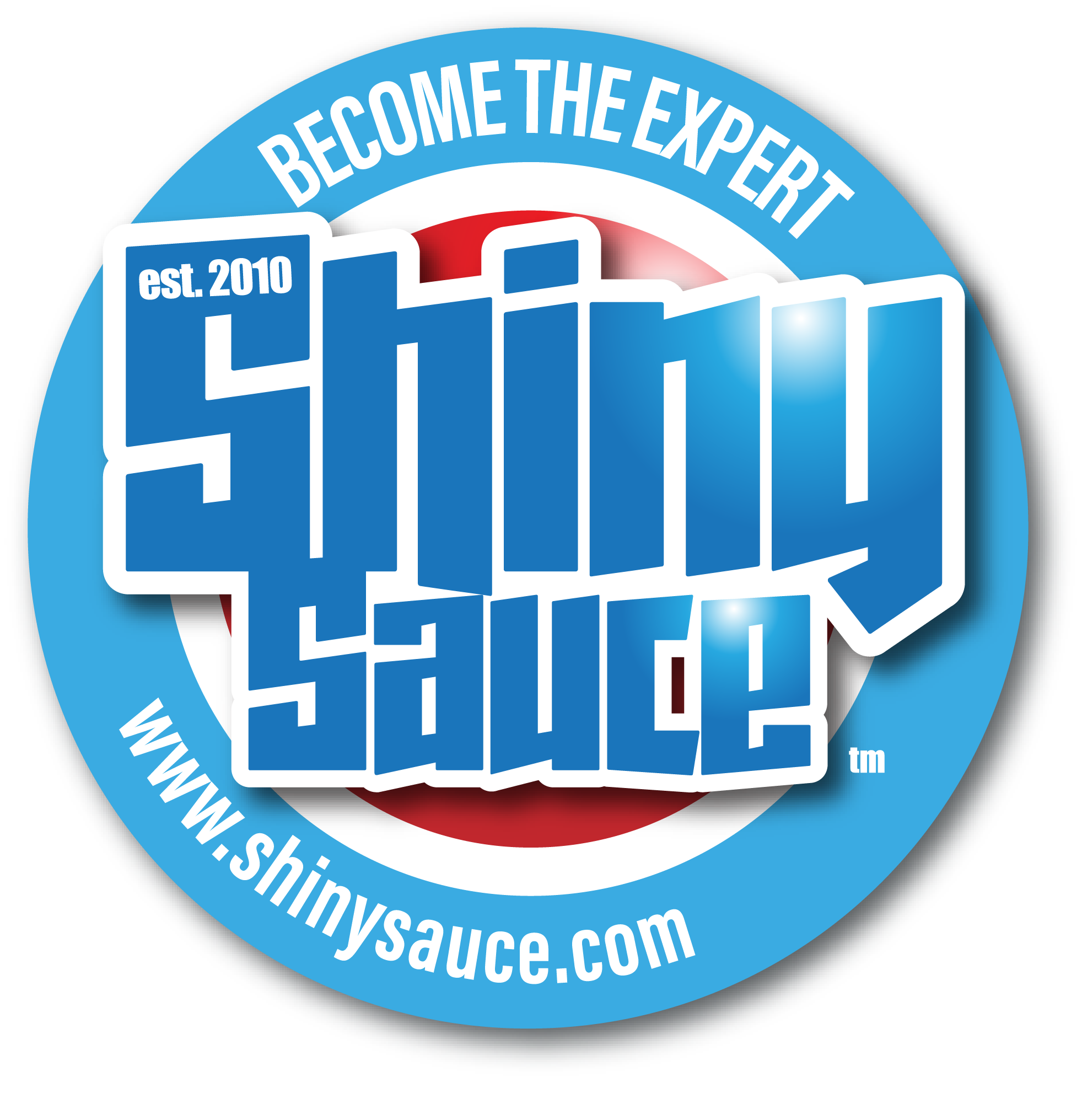 Shiny Sauce logo, be the expert